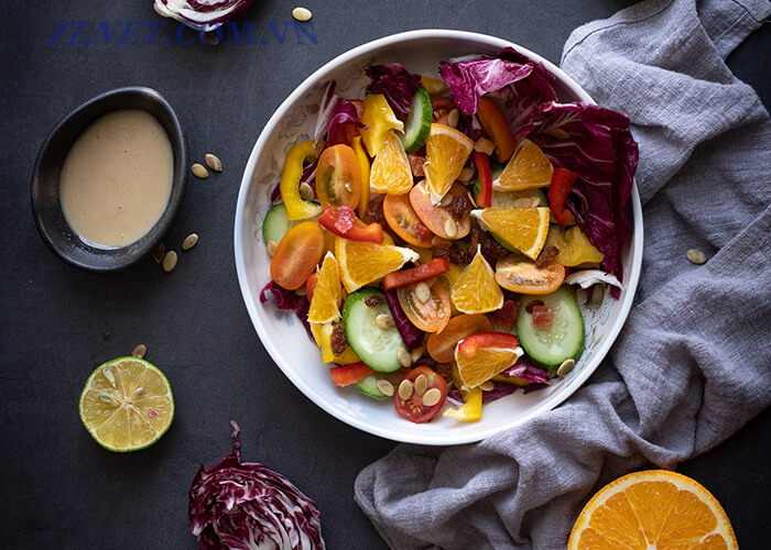 Salad Bí Đỏ Thịt Xông Khói