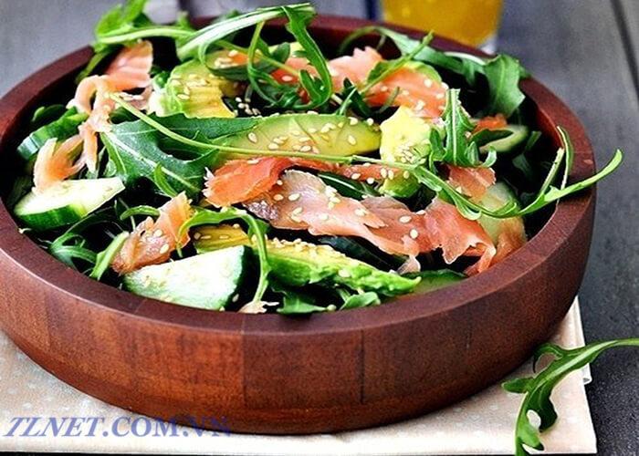 Salad Bơ Giăm Bông