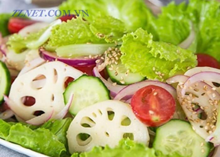 Salad hoa sen