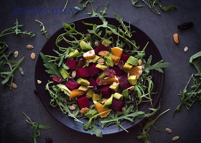 Salad Sốt Hạnh Nhân