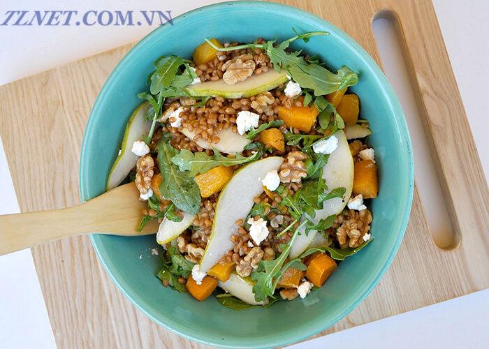 Salad Táo Và Phô-Mai Dê