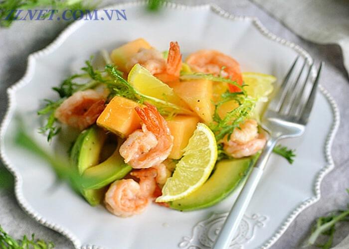 Salad thập cẩm muối tôm