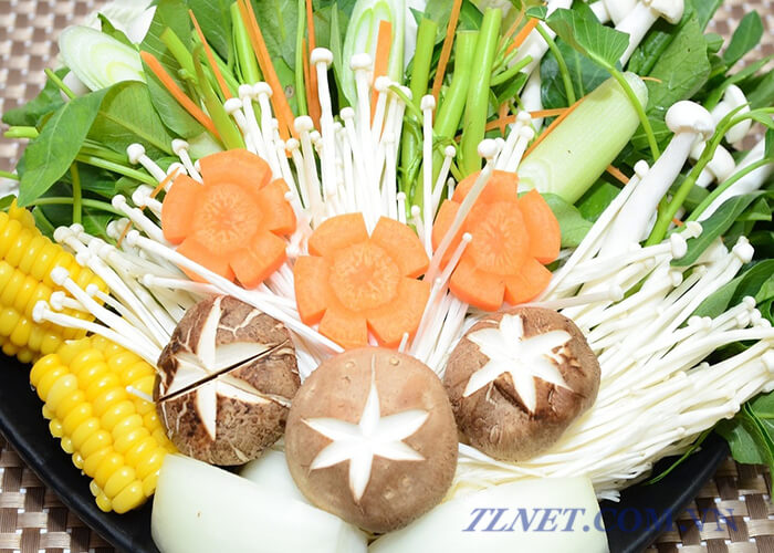 Sashimi nấm