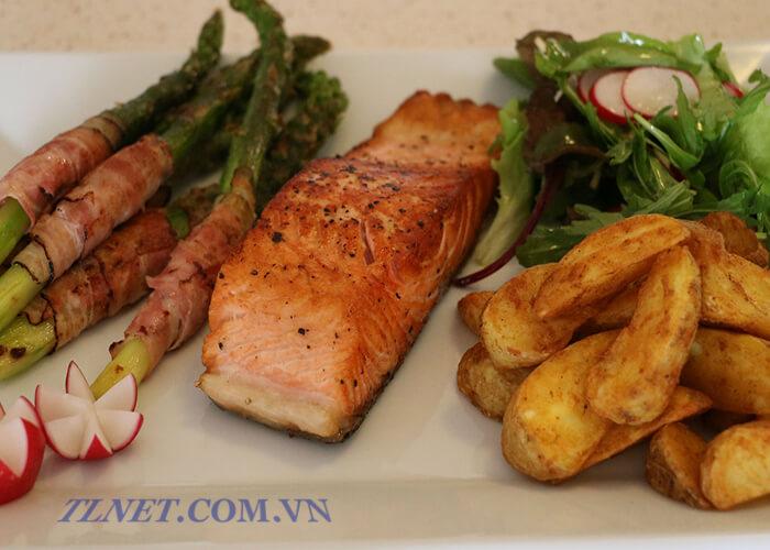 Steak cá hồi
