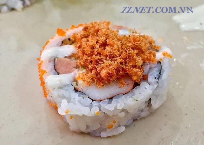 Sushi chà bông cá
