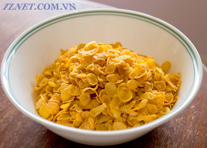 bánh cornflake trộn