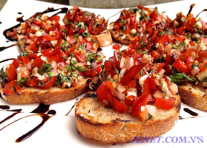 Bánh Mì Nướng Kiểu Ý