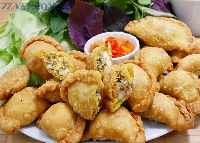 Bánh Xếp Nấm Đông Cô Khô