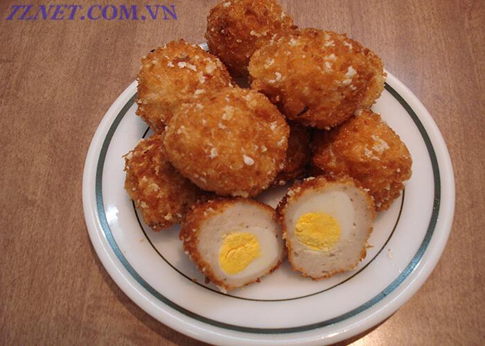 Bột Báng Bọc Trứng Cút