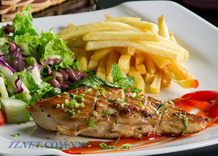 cá ngừ xào