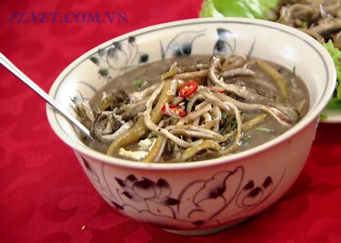 Canh bồn bồn nấu lươn