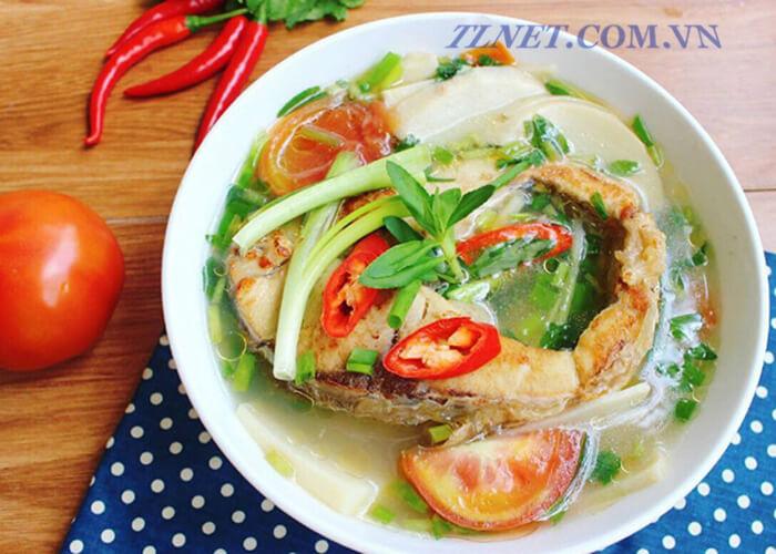 Canh Cá Chép Nấu Su Hào
