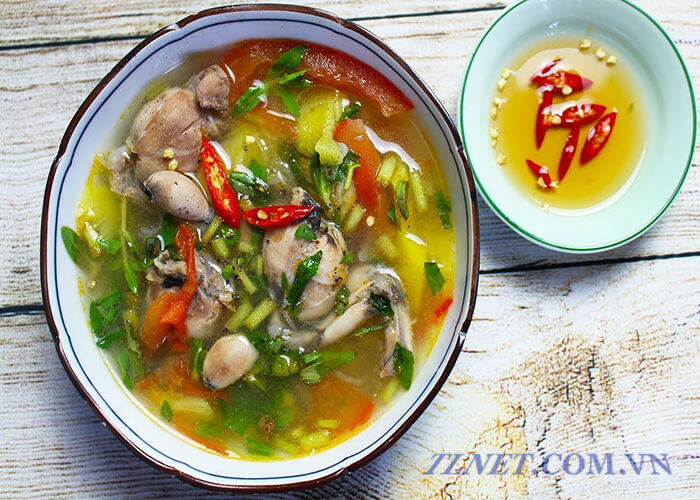 Canh ếch
