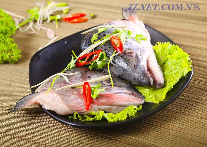Khổ Qua Nấu Đầu Cá Và Đậu Nành