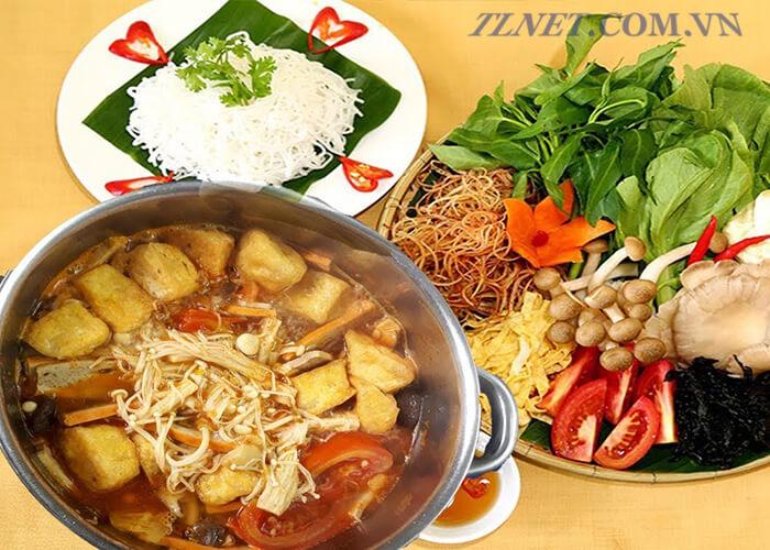 Lẩu Nấm Thái Chay