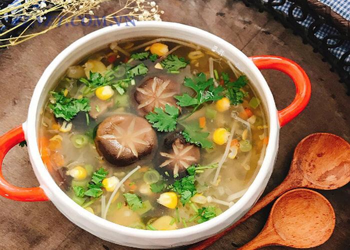 Súp Nấu Kim Châm