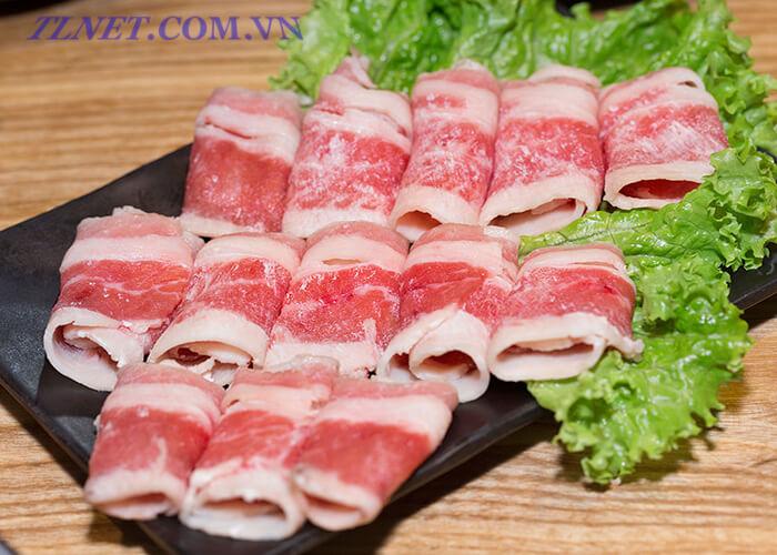 Thịt Bò Cuốn Nấm Ênôki Bít Tết