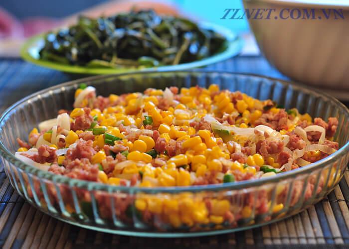 Thịt Xay Trộn Ngô