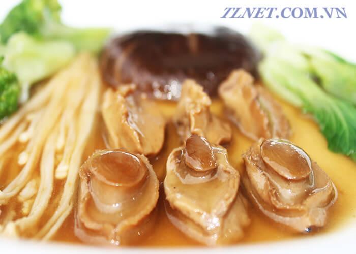 bào ngư nấu dầu hào