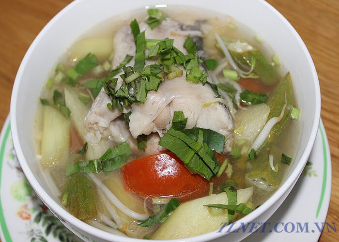 Cá Lóc Nấu Tai Chua