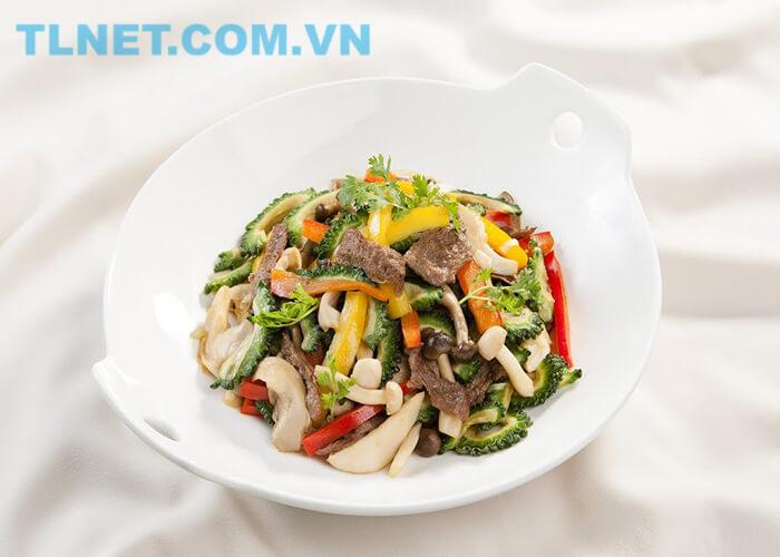Bò Xào Tiêu Xanh Chay
